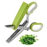 Herb Scissors, X-Chef Multipurpose Kitchen...
