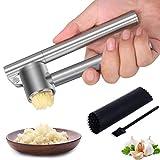 Mempedont Garlic Press Mincer - 304 Stainless...