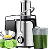 POTANE Juicer Machine, Titanium Enhanced Filter,...