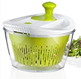 OVOS Large Salad Spinner 5 Quarts Fruits and...