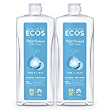 ECOS Hypoallergenic Dish Soap, Free & Clear, 25 oz...
