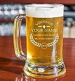 PersonalizedBeer Glass - Custom Engraved Beer...