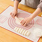 Large Silicone Pastry Mat Extra Thick Non Stick...