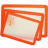VEHHE Silicone Baking Mat with Measurements - Set...