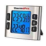 ThermoPro TM02 Digital Kitchen Timer with Dual...
