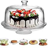 Extra Large (12') 6 in 1 Cake Stand with Dome Lid...