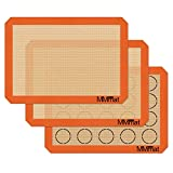 MMmat Silicone Baking Mats - Best German Silicone...