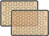 AmazonBasics Silicone, Non-Stick, Food Safe Baking...