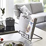 Recipe Book Stand Foldable Cookbook Stands Holders...