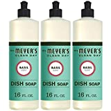 Mrs. Meyer´s Clean Day Dish Soap, Basil, 16 FL...