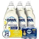 Dawn Free & Clear Dishwashing Liquid Dish Soap...