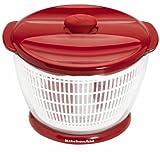 KitchenAid Plastic Salad Spinner (Red)