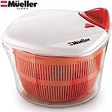 MUELLER Large 5L Salad Spinner Vegetable Washer...