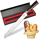 Bread Knife, imarku German High Carbon Stainless...