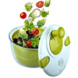 OVOS Salad Spinner Large 5 Quarts Fruits and...