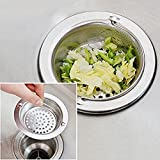 Aottop Stainless-Steel Kitchen Sink Strainer -...