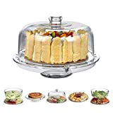HBlife Acrylic Cake Stand Multifunctional Serving...