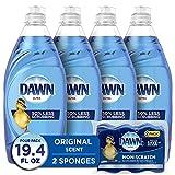 Dawn Ultra Dishwashing Liquid Dish Soap (4x19oz) +...