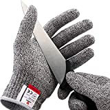NoCry Cut Resistant Gloves - Ambidextrous, Food...