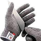 NoCry Cut Resistant Gloves - Ambidextrous, Food...
